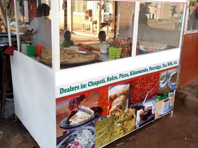 Chappati and Rolex Stall Project
